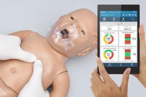 Susie®/Simon® CPR Newborn CPR compressions