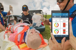 Trauma HAL® S3040.10 with OMNI® 2  Point of Injury Care Trauma Patient Simulator