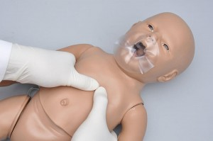 S102 Susie® and Simon® Newborn CPR Simulator w/ OMNI® Code Blue Pack