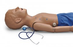 5-Year-Old Patient, Heart and Lung Sounds Skills Trainer with Intubatable Airway (S314.300)